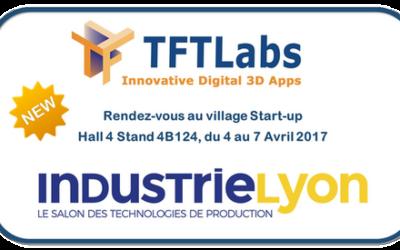 TFTLabs présent sur le salon Industrie Lyon au village Start-up